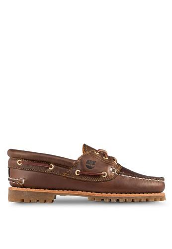 Timberland brown Noreen 3-Eye Handsewn Shoes TI845SH31TIASG_1