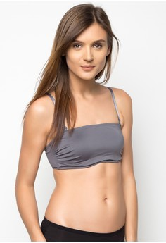 Wired Bandeau with Removable Straps