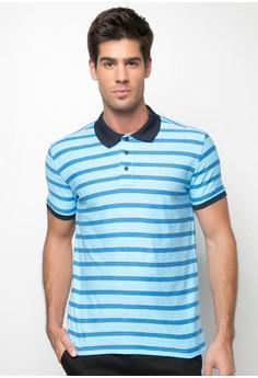 Fin Stripe Polo Shirt