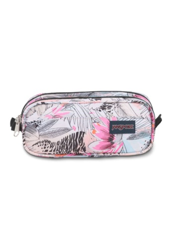 Jansport multi Jansport Unisex Large Accessory Pouch Agave Zebra-1.3L 50D09ACE7AE0F4GS_1