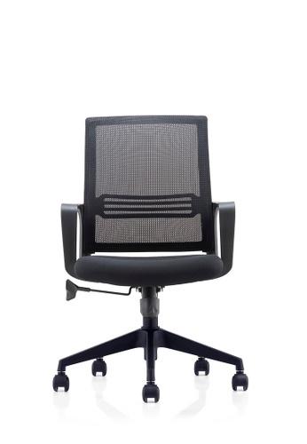 AMERCIS black Amercis Eltron Office Mesh Chair 4EDC0HL82E71B3GS_1