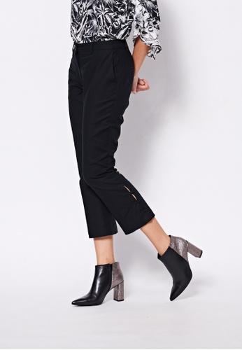 Sisley black Slim Fit Pants E2F79AAE45B816GS_1
