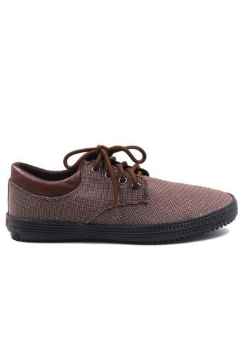 London Fashion brown Matteo Formal Shoes   LO229SH47ZJWPH_1