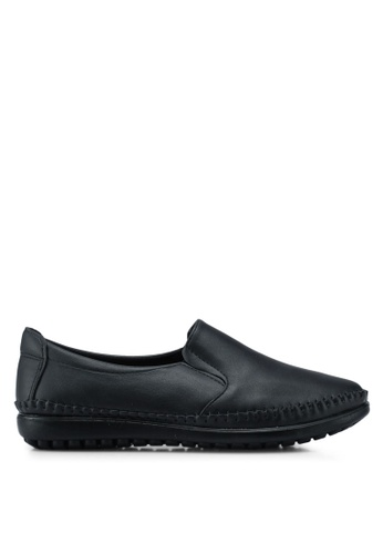 Louis Cuppers black Casual Loafers 9587BSH7A5B1A2GS_1