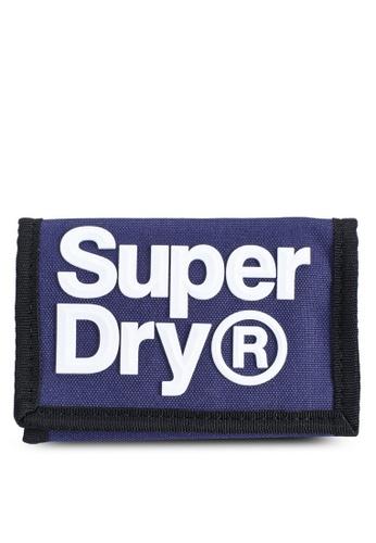 SUPERDRY blue Logo Wallet - Sportstyle Code C53E2AC3D741A8GS_1