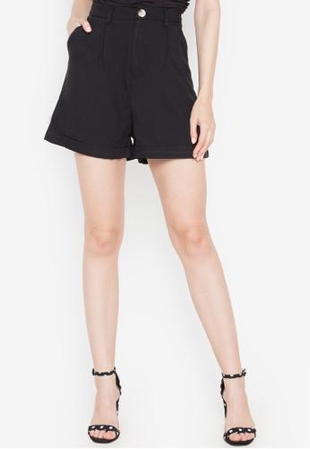 Spring Fling black Dress Shorts D1537AA190A46AGS_1