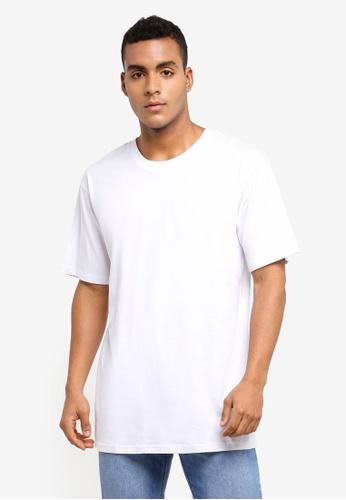 Cotton On 白色 素色短袖T恤 81C2FAACE781C3GS_1