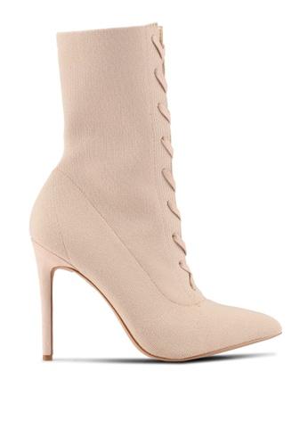 ALDO beige Miassa Boots AL087SH0S72NMY_1