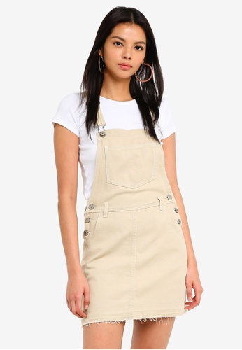 Supre brown The Denim Pinafore F5937AA1703F9AGS_1