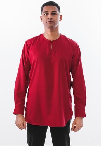 Achaboy red Achaboy Kurta - Sheikh - Red 07AA3AA063CAD4GS_1