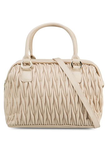Miami 軟襯縫線手提包, 包,esprit 旺角 購物包