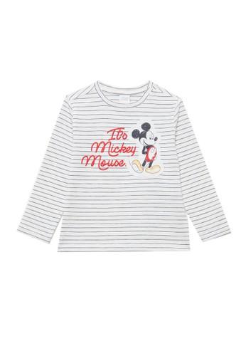 OVS white Mickey Mouse Embroidery T-Shirt 1EA04KA6C8B9DBGS_1