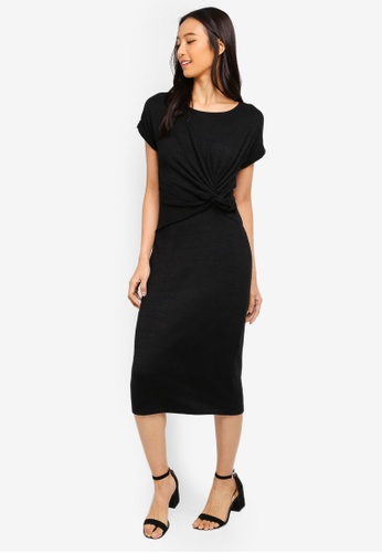 c249a9d526 Buy GAP Knotted Midi Dress Online on ZALORA Singapore