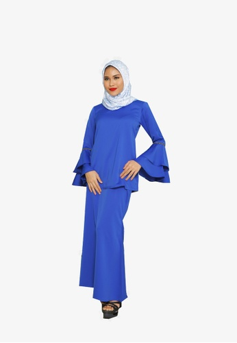 Umaiyra Kurung Modern from KAMDAR in Blue