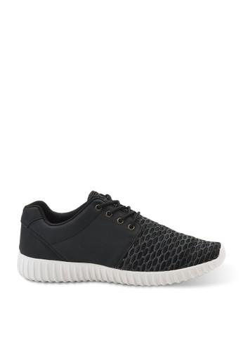 大格飛織布超輕量刀灣鞋, esprit outlet 台灣鞋, 懶人鞋