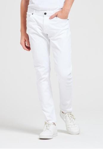 Terranova white 5-pocket Skinny Trousers 6F89AAA7B4E2C2GS_1