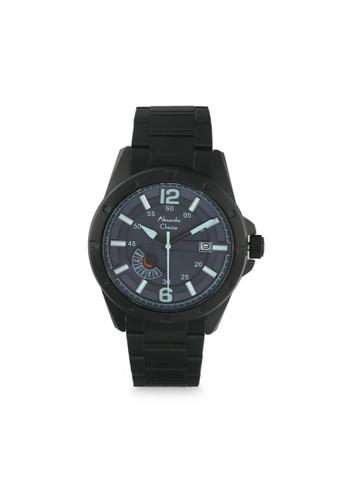 Alexandre Christie black and blue Alexandre Christie AC 6536 MEBIPBU Jam Tangan Pria Stainless Steel 41792AC304A6C7GS_1