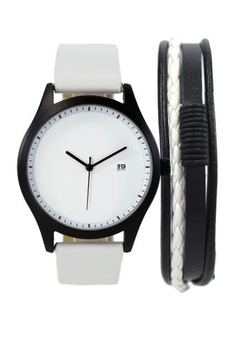 LEUPP white Aoki Watch And Bracelet Pack 2C1BFAC47E7369GS_1