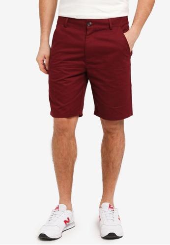 Flesh IMP 紅色 Bauer Line Shorts 8B409AA850AECFGS_1
