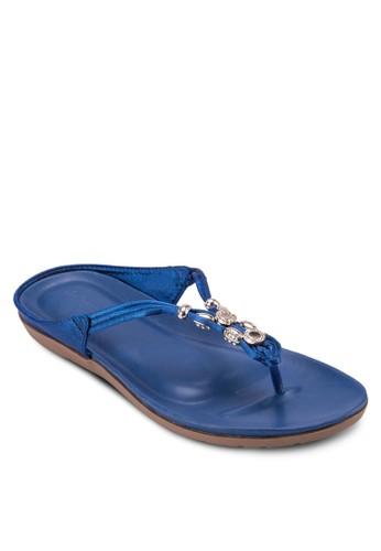 閃飾夾腳拖, 女鞋, 涼esprit 台中鞋