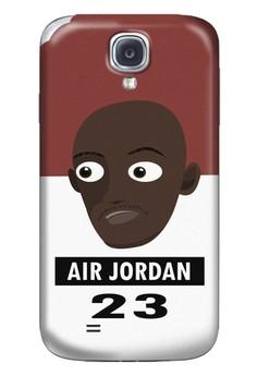 Air Jordan Matte Hard Case for Samsung Galaxy S4