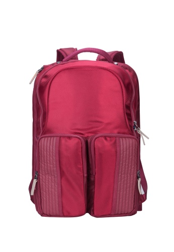 Caterpillar Bags & Travel Gear red Revo Backpack Small CA540AC13IRQHK_1