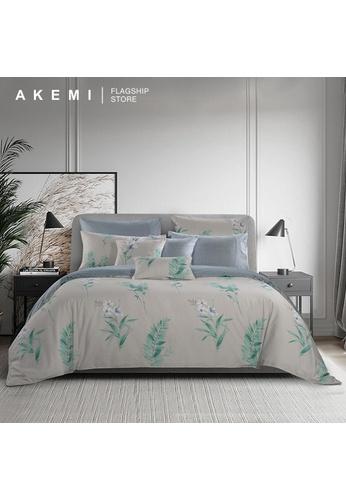 AKEMI green AKEMI Cotton Select Adore - Flove (Quilt Cover Set). B3D3BHL2CF024DGS_1