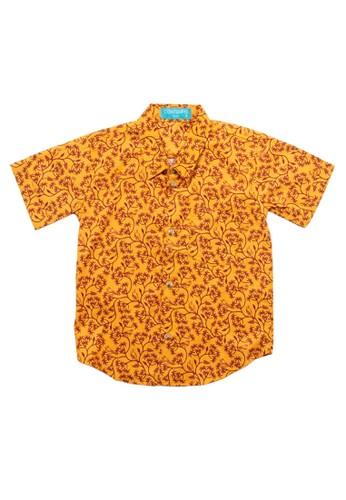 Contempo orange Fremont Family Printing 81B21KAE3C0084GS_1