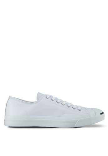 f5a1b4f1cb36 Converse white Jack Purcell Leather Ox Sneakers CO302SH33BMWSG 1