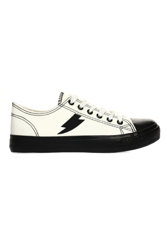 New York Sneakers black and white New York Sneakers Elwyn A11 Men's Low Cut Shoes D6324SH9ACF135GS_1
