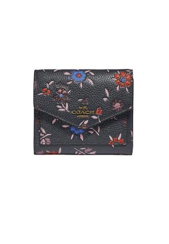 Coach multi and navy Coach Small Wallet Wth Wildflower Print 1131 15B5FACA0E12D2GS_1