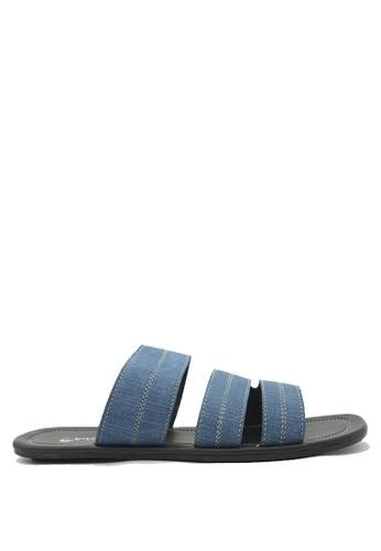Dr. Kevin blue Dr. Kevin Men Casual Sandal 17210 - Blue DR982SH0U50QID_1