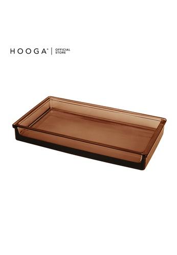 HOOGA brown Hooga Toiletries Tray 56FB4HLF15829FGS_1