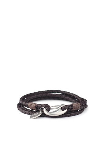 Gnome and Bow black and brown and silver and beige Ralph Bracelet 7F224AC7927368GS_1