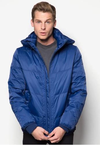 連帽拉鍊esprit outlet台北外套, 服飾, 冬裝外套