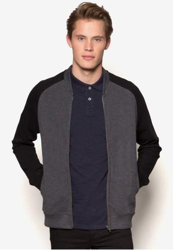 拼色拉克蘭袖棒球外套、 服飾、 外套BurtonMenswearLondon拼色拉克蘭袖棒球外套最新折價