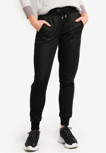 ONLY black Luna Lurex Pants 6B201AA065D1D9GS_1