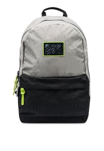 SUPERDRY grey Hologram Montana Backpack 6AC01AC65281F1GS_1