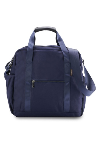 Bagstationz navy Water Resistant Travel Big Bag BA607AC22QOBMY_1