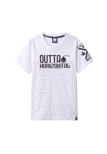 Cheetah white Cheetah C2 United Casual Short Sleeves Tee Round Neck - CT-91176-C1 27562AA941F1FAGS_1