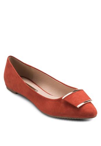 Vino 牌飾平底鞋, 女鞋esprit 見工, 鞋