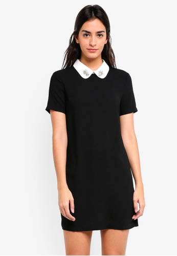 ZALORA black Embellished Collar Dress D5E83AA0CC6E97GS_1