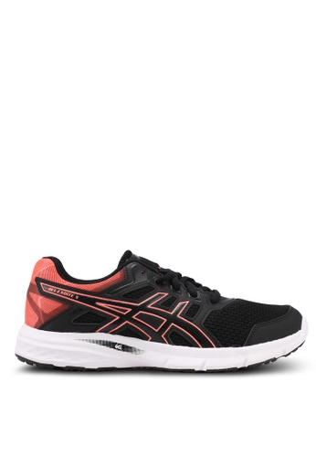 Asics black Gel-Excite 5 Shoes AS989SH0SVS8MY_1