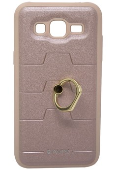 Back Cover Case with Ring Holder for Samsung Galaxy J5
