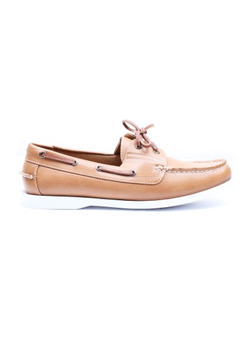Moley brown Classic Boat Shoes MO329SH01XHMSG_1