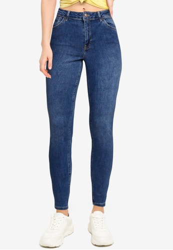 LC Waikiki blue Ankle Length Push-Up Jeans 76844AABE71A9EGS_1
