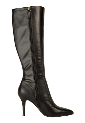 Nine West black NWFALLON9X9 Pointy Toe Boots NI432SH0GHMLSG_1
