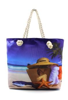 Summer Fashion Beach Tote Bag