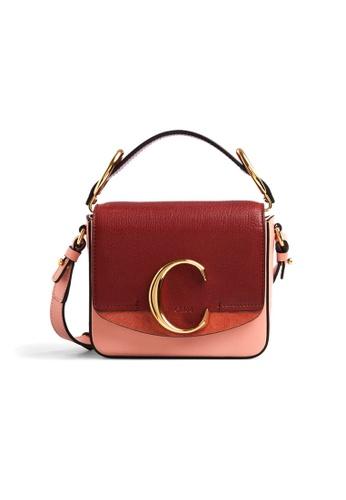 Chloé pink Chloe Mini Chloé C Crossbody Bag in Fallow Pink 51437AC4F482CCGS_1