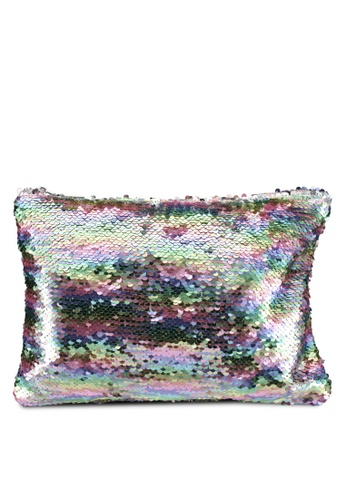 Something Borrowed multi Sequin Pouch B9AE9ACC377F48GS_1